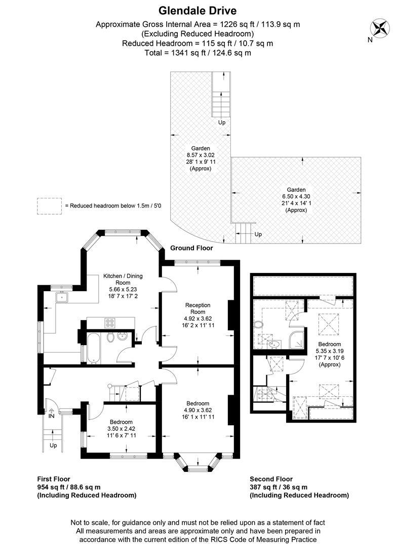 Floorplan for Glendale Drive, Wimbledon